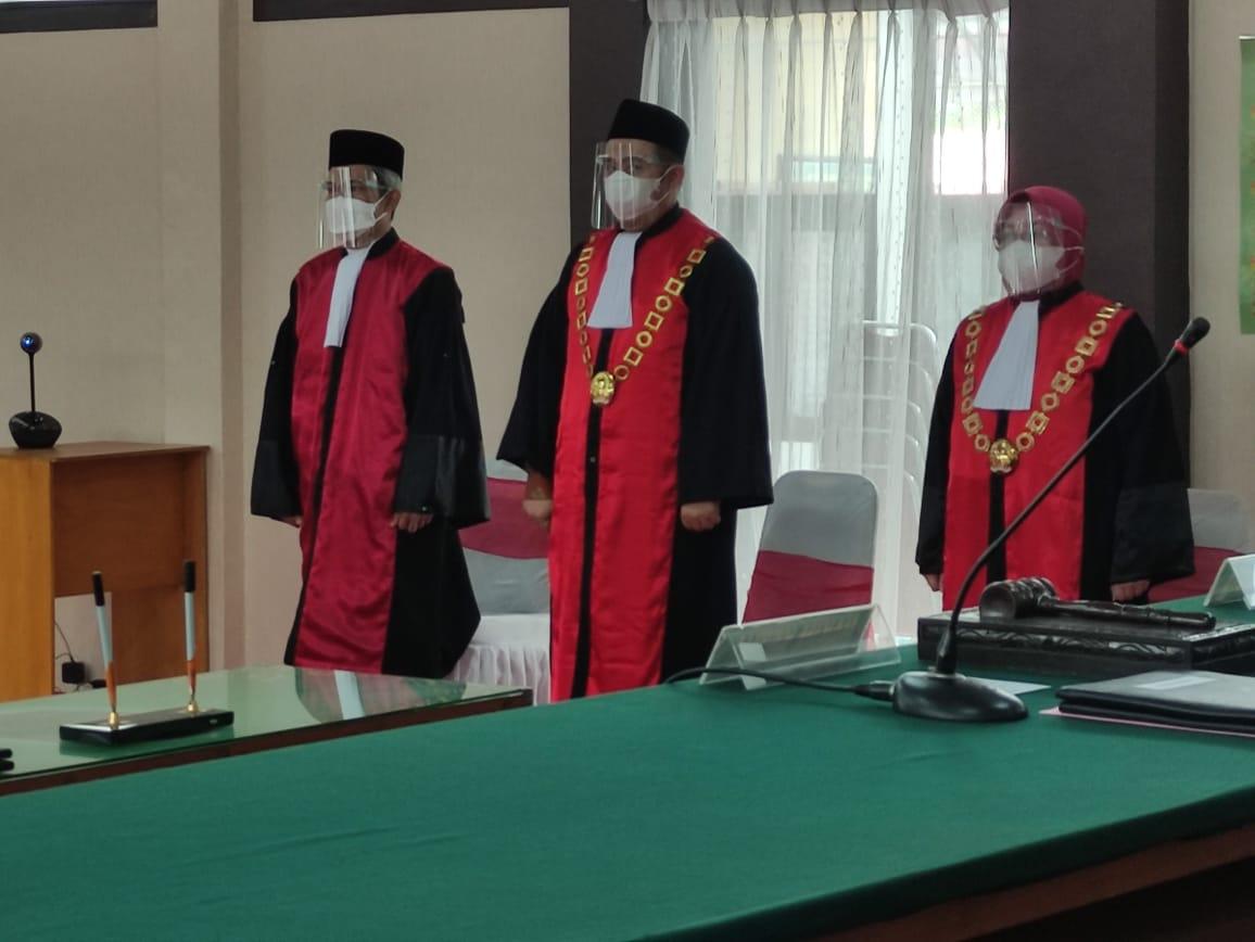 Pelantikan Ketua Pengadilan Negeri Muara Bungo di Pengadilan Tinggi Jambi