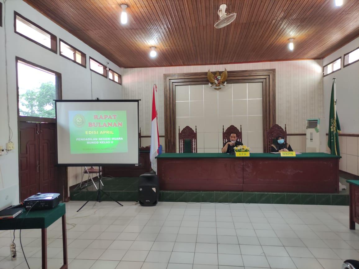 Rapat Dinas Bulanan Edisi April 2021