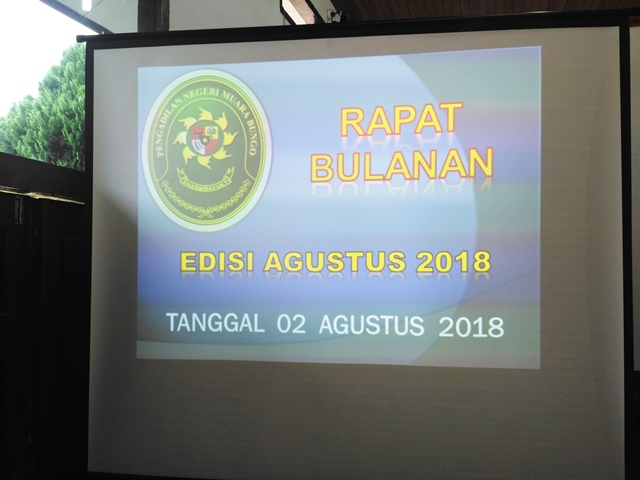 Briefing Edisi Agustus 2018 dan Penyerahan Piagam Role Model Edisi Semester 2 Tahun 2018