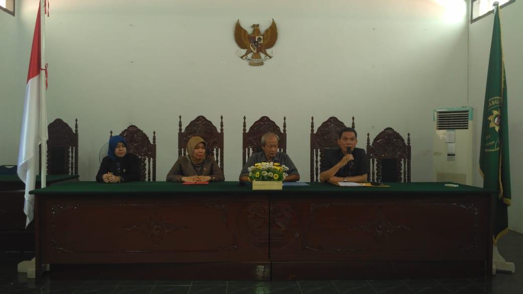 Pengawasan Rutin/ Monitoring dan Tidak lanjut temuan BPK oleh BAWAS MARI di Pengadilan Negeri Muara Bungo Kelas II