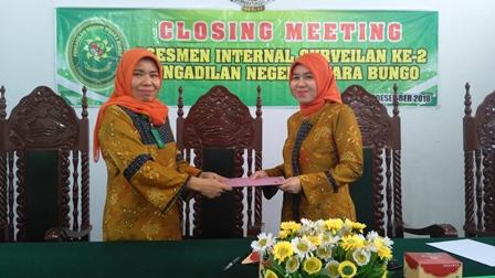 Briefing Edisi Desember 2018 dan Closing Meeting Assesmen Internal Mandiri 2018