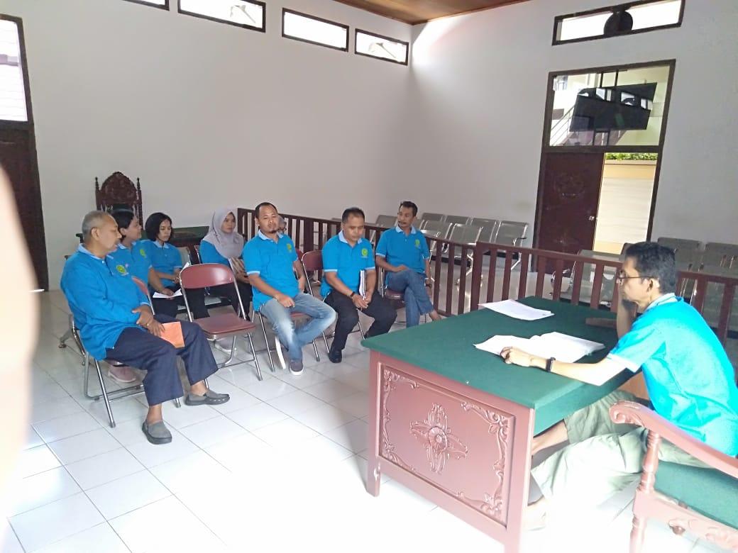 Rapat Kepaniteraan PN. Muara Bungo Kelas II Edisi Bulan Juli 2019...