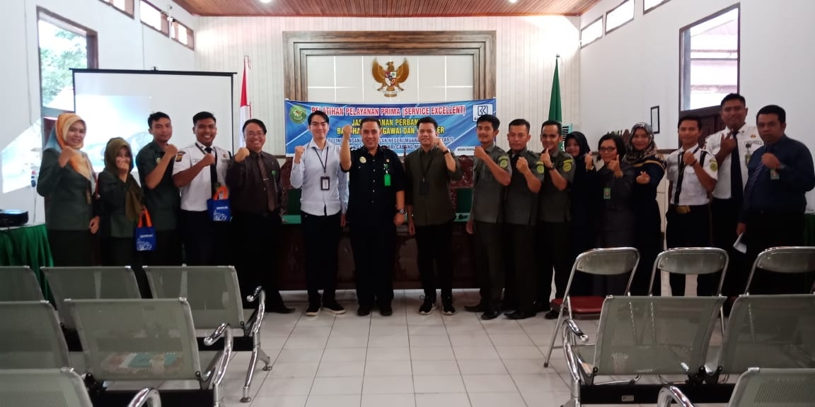 Pelatihan Pelayanan Prima Pelayanan Terpadu Satu Pintu (PTSP) PN. Muara Bungo Kelas II