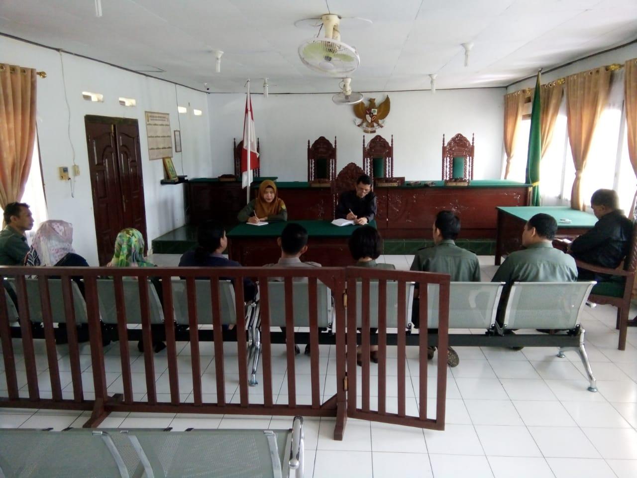 Rapat Kepaniteraan PN. Muara Bungo Kelas II Edisi Bulan Januari 2019...