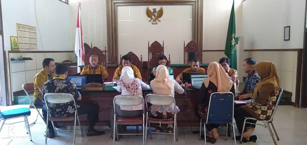 Rapat Penyelarasan SIPP dan MIS di PN. Muara Bungo Kelas II...