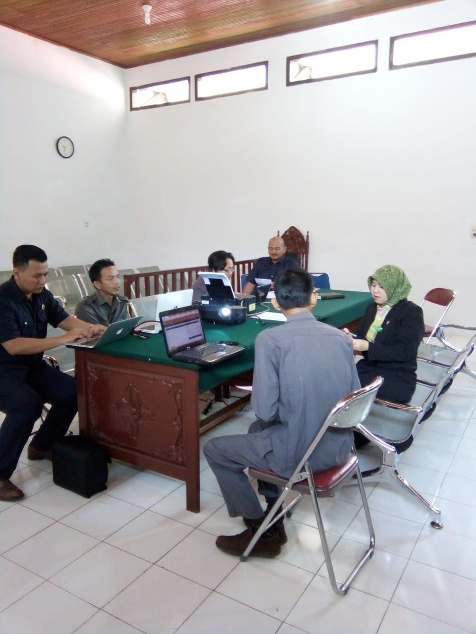 Rapat Pemantapan Aplikasi SIPP, MIS dan Sarana Penunjang Satgas SIPP PN. Muara Bungo Kelas II...